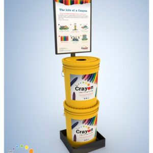 Yellow Bucket Display